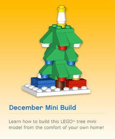 tree Lego Gingerbread House, Lego Christmas Tree, Lego Tree, Lego Advent Calendar, Mega Blocks, Christmas Crackers, Lego Design, Lego Instructions, Lego Building