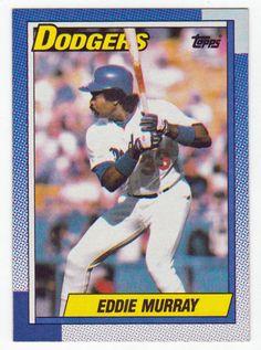 Eddie Murray # 305 - 1990 Topps Baseball