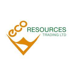Werner Design, 2019, Logoentwicklung für Ecoresources Trading Ltd.. Die Firma handelt mit Altpapier und Altkarton Marken Logo, Portfolio, Atari Logo, Logos, Design, Old Paper, Logo