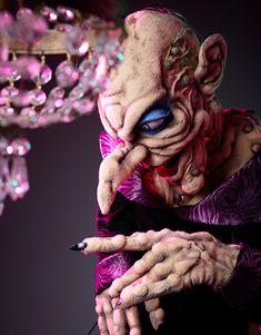 Yet another incredible puppet by Norman Schneider