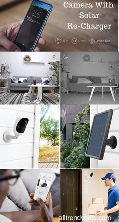 The Surveillance Camera built with starlight image sensor, it can see up to night vision. You do not miss any details day and night. You can keep an eye on your property at all times. Cc Camera, Sun Light, Electronics Gadgets, Night Vision, Solar Panels, Charger, Times, Eye, Dark