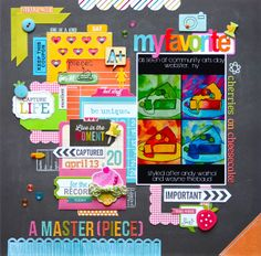 Top Ten Layouts of 2013, a Blog Hop and a Giveaway