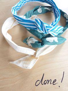 Making a twist headband