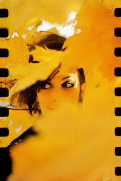 Such an interesting photograph in this roll of film with a background of orange. by gachwell - Lomography