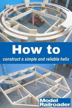 Construct a simple and reliable helix N Scale Train Layout, N Scale Trains, Model Train Layouts, Ho Model Trains, Ho Trains, Helix Models, Train Ho, Lionel Trains Layout, Model Railway Track Plans