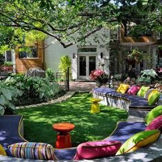 Beautiful backyard entertaining