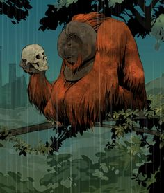 Disney's Brian Kesinger contributes to the Planet of the Apes Poster Art book on Madefire