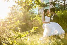 Indian American wedding portraits at Pomme in Radnor at sunset. Photo by Ben Weldon of Weldon Weddings. #philadelphiaweddingphotographer #pommewedding #mainlinewedding