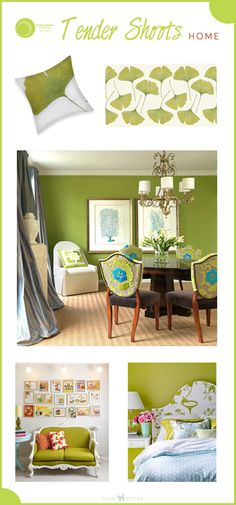 Color trends for spring and summer 2013: Tender Shoots - nice