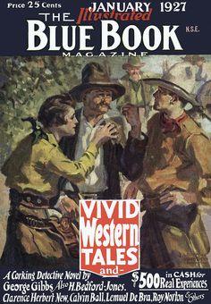 Blue Book  [1927-01] cover