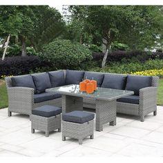 Αν αναζητάτε ένα ευρύχωρο και πλήρες σετ σαλόνι για τον κήπο ή την βεράντα σας, το γωνιακό σαλόνι κήπου Connect είναι η επιλογή σας! Αποτελείται από γωνιακό καναπέ διθέσιο και τριθέσιο, τραπέζι, και δύο πρακτικά σκαμπώ από υλικό wicker και μεταλλικό σκελετό #σαλόνι #κήπος #έπιπλακήπου #epiplakipou #kipos #saloni #epipla #βεράντα #μπαλκόνι #κηπος #σαλονι #επιπλα #καναπες #καναπές #τραπεζάκι #πολυθρόνες #σκαμπώ #outdoorfurniture