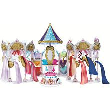 Pony Royale Dressing Carousel with Rainbow Harmony Pony. I was part of the invention team that created these dolls.