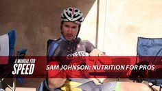 Team Exergy's Sam Johnson on what the Pro's eat.