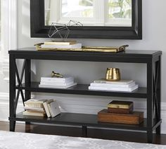 "Cassie Console Table | Pottery Barn [54"" L x 15"" W x 30"" H ]"
