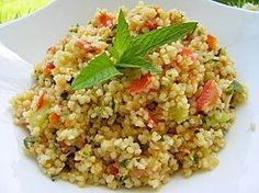 TABOULE (thermomix) Kitchenaid, Risotto, Lebanese Recipes, One Pot Pasta, Asian Chicken, Couscous, Fried Rice, Salad Recipes, Entrees