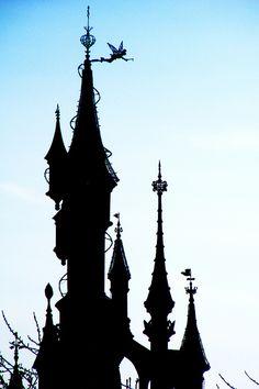 Sleeping Beauty Castle Tower at Disneyland Paris #DLRP #DLP #Disney