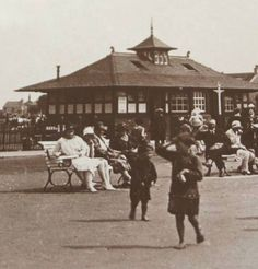 Melbourne Park early 20th C