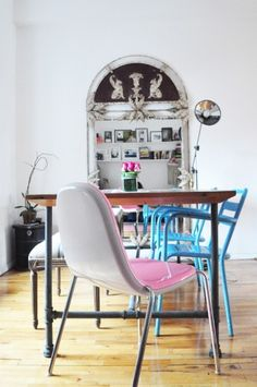 #decoratecolorfully chair medley