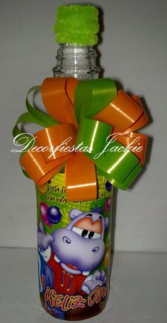 Party Centerpieces, Decorated Bottles, February, Sweets, Fiesta Centerpieces