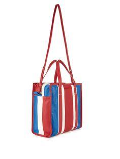 Bazar small grained-leather shopper | Balenciaga | MATCHESFASHION.COM UK