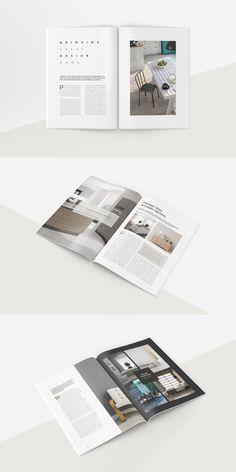 #magazine #brochure #template #indesign #design #print Indesign Templates, Invoice Template, Flyer Template, Graphic Design Layouts, Layout Design, Proposal Templates, Magazine Template, Stationery Set, Presentation Templates