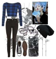 """Namjoon-Blue"" by lorna-castillo ❤ liked on Polyvore featuring WearAll, Acne Studios, Converse, BERRICLE, Casetify, Master & Dynamic, bts and Namjoon"