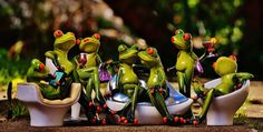 party time frogs