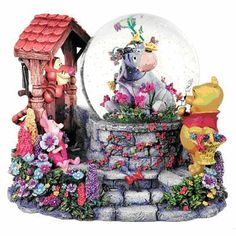 Disney Eeyore's Garden Snowglobe