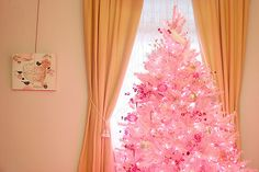pink Christmas Tree by Making it Lovely