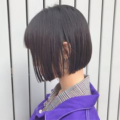 Pin on ボブ ヘアー (Bobbed hair) Pin on ボブ ヘアー (Bobbed hair) Short Bob Haircuts, Girl Haircuts, Hairstyles Haircuts, Mullet Hairstyle, Ulzzang Hairstyle, Long Hairstyle, Korean Short Hair, Korean Girl, Angled Bobs
