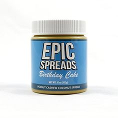 Epic Spreads - Birthday Cake Peanut Cashew Coconut Spread ^^ You can find more details at : Fresh Groceries
