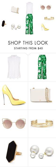 """casual"" by ikatsamaki on Polyvore featuring Elie Tahari, Dolce&Gabbana, Tory Burch, MANGO, Stella & Dot, Jaeger and Allurez"