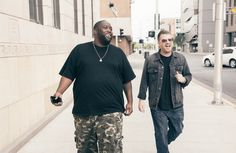 Watch Run The Jewels take the stage at Banksy's Dismaland