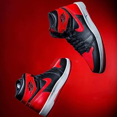 "Available Now: Nike Air Jordan 1.5 The Return ""Bred""  Click link in profile to shop."