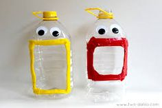 Creative recycled targets