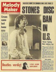 Melody Maker September 7, 1968