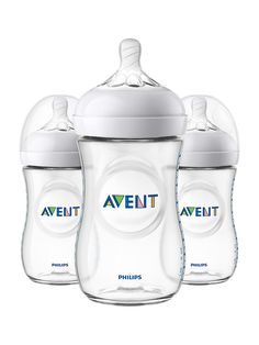 Philips Avent 3-Piece 266ML Natural Bottle Set | TheBay