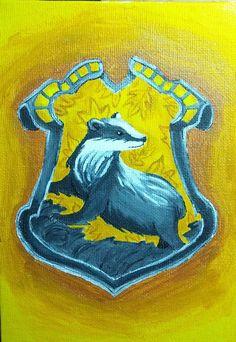 Hufflepuff Crest by Capitaine-Jaf.deviantart.com on @DeviantArt