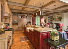 Kitchen Photos Red Cabinets Design, Pictures, Remodel, Decor and Ideas - page 8