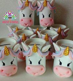 Un nnn la pa. Unicorn Birthday, Unicorn Party, Diy And Crafts, Crafts For Kids, Art N Craft, Ideas Para Fiestas, Lalaloopsy, Fiesta Party, Pasta Flexible