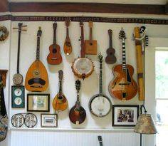 Hang Instruments as Wall Art
