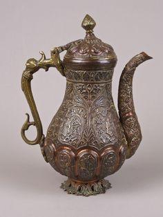 A Fine 19th Century Kashmiri Copper & Brass Ewer. | eBay