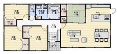 平屋 間取り 30坪 4LDK House Plans, Floor Plans, How To Plan, Home Decor, Google, Houses, Decoration Home, Room Decor, House Floor Plans