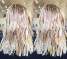 bright blonde balayage hair color ash blonde golden blonde icy highlights beach mermaid hair ideas