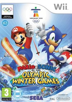 Mario & Sonic: Olympic Winter Games – Wii « Blast Gifts