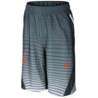 Nike KD Quickness Print Shorts - Boys' Grade School - Durant, Kevin - Dark Magnet Grey/White/Team Orange