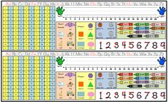"""Name Tags Freebie--Lots of great staff on these; love the 120 Chart and touch points! ....Follow for Free """"too-neat-not-to-keep"""" teaching tools & other fun stuff :) Name Tag For School, 1st Day Of School, Beginning Of The School Year, School Tool, School Stuff, Classroom Organisation, Classroom Management, School Classroom, Classroom Themes"""