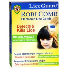 LiceGuard Robi Comb Electronic Lice Comb at Walgreens with Reviews