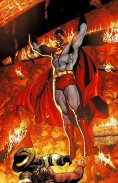Superman by Gary Frank at Comic Art Community!