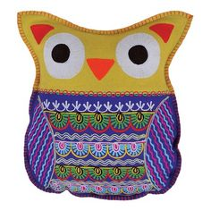 I pinned this Owl Cushion I from the Collection Kolore event at Joss and Main!